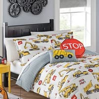 Waverly Kids Under Construction Reversible Bedding Collection