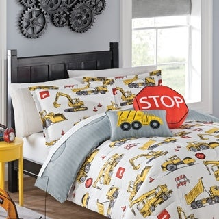 Waverly Kids Under Construction Reversible Bedding Collection (2 options available)