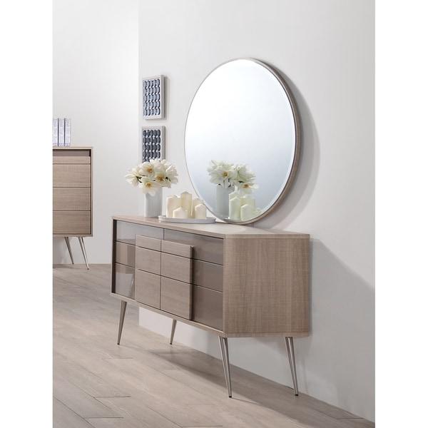 Shop Best Master Furniture Weathered Oak Sleigh: Shop Best Master Furniture Brazil Taupe Bronze 2 Pieces
