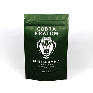 Cobra Kratom Green Vein Capsules
