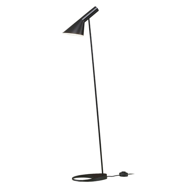 Arne Black Metal 53-inch Task Floor Lamp