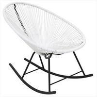 Acapulco White Rocking Chair