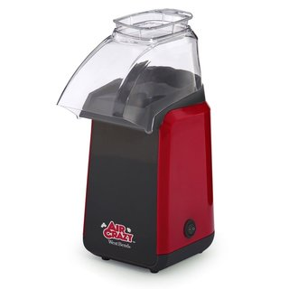 West Bend 82418R Air Crazy 4-Quart Hot Air Popcorn Popper, Red