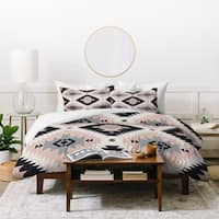 Deny Designs Southwestern Geometric Duvet Cover Set (3-Piece Set)