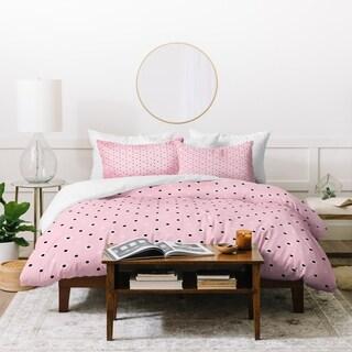 Lisa Argyropoulos Dotty Blush Dots Duvet Cover Set