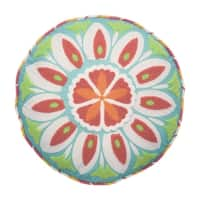 Waverly Kids Wild Card Embroidered Round Accessory Pillow