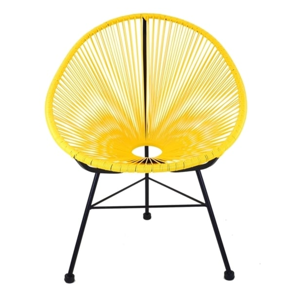 plastic patio chairs. Unique Plastic Acapulco Yellow Plastic Patio Chair With Black Metal Base Inside Chairs