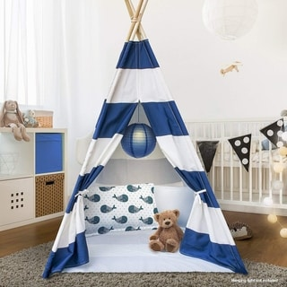 Sorbus Teepee Tent for Kids Play , Includes Portable Carry Bag for Travel or Storage