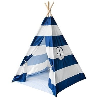Sorbus Teepee Tent for Kids Play  Includes Portable Carry Bag for Travel or Storage - Free Shipping Today - Overstock.com - 25435068  sc 1 st  Overstock.com & Sorbus Teepee Tent for Kids Play  Includes Portable Carry Bag for ...