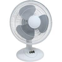 """Cool Works TP7-12A 12"""" 3-Speed Desk Fan"""