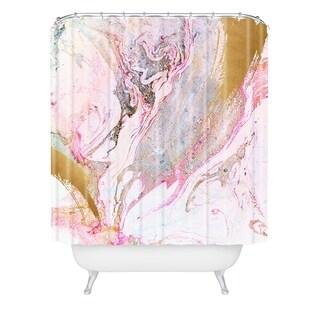 Iveta Abolina Winter Marble Shower Curtain
