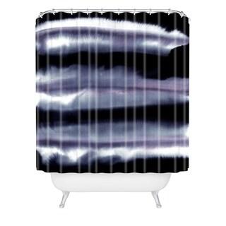 Amy Sia Tempest Monochrome Shower Curtain