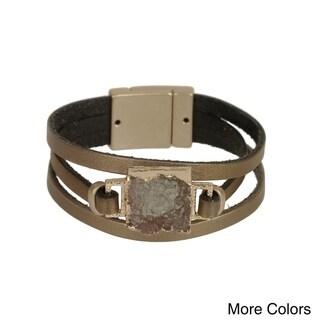 Handmade Saachi Square Druzy Bracelet ( China )