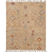 eCarpetGallery Brown Wool Hand-knotted Tangier 20042 Rug (8' x 10')