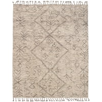 eCarpetGallery Tangier Ivory Wool Hand-knotted Rug (8' x 10')
