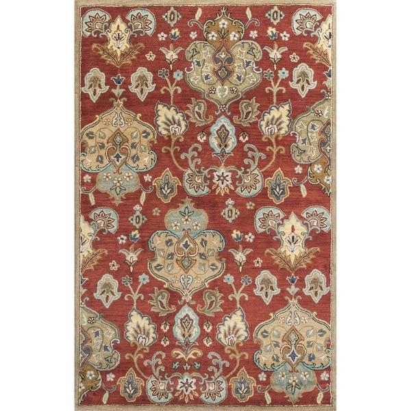 KAS Syriana Cinnamon Tapestry Rug - 5' x 8'