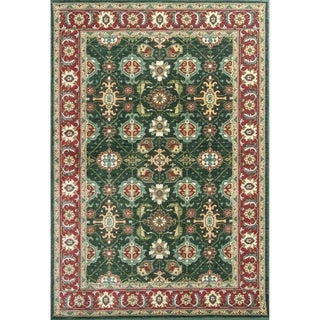 Shiraz Emerald/Red Mahal - 5'3 x 7'7