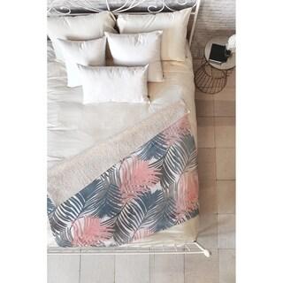 Emanuela Carratoni Pattern Jungle Fleece Throw Blanket