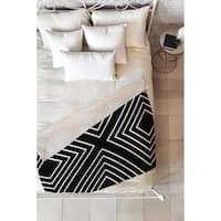 Kelly Haines X Marks the Spot Fleece Throw Blanket
