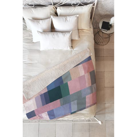 Mareike Boehmer Nordic Combination 30 A Fleece Throw Blanket