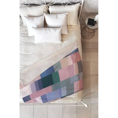 Mareike Boehmer Nordic Combination 30 A Fleece Throw Blanket