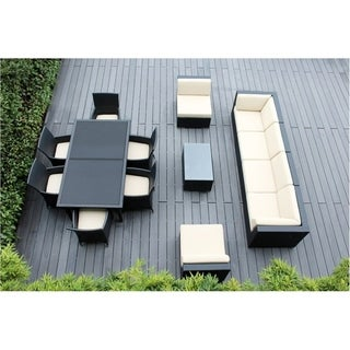 Ohana 14-Piece Outdoor Patio Furniture Sofa and Dining Set
