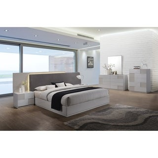 Best Master Furniture Naple Silver Line 5 Pieces Bedroom Set