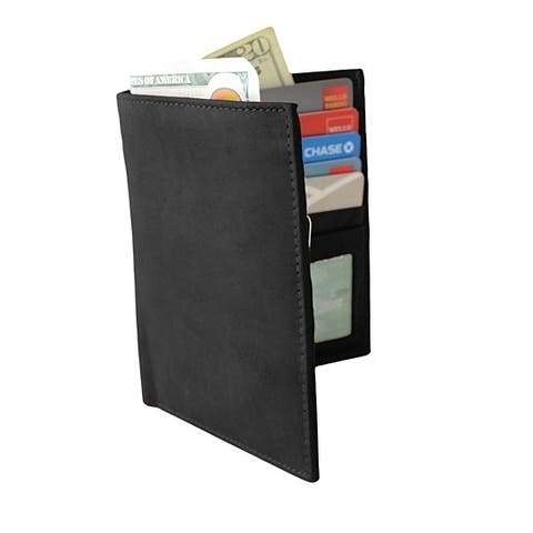 AFONiE RFID Blocking Genuine Leather Bifold Wallet