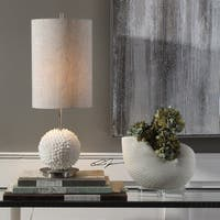 Uttermost Cascara Brushed Nickel Sea Shells Table Lamp