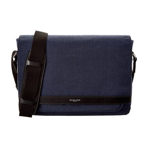 Michael Kors Grant Navy Messenger Bag