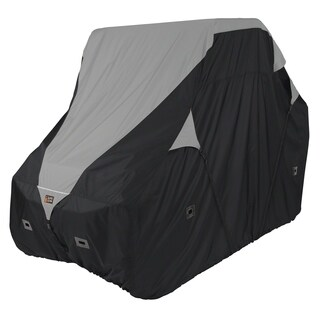 Classic Accessories 18-064-043801-00 Deluxe UTV Storage Cover, Large, Black/Grey