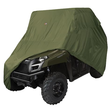 Classic Accessories 18-075-051401-00 UTV Storage Cover, XLarge, Olive