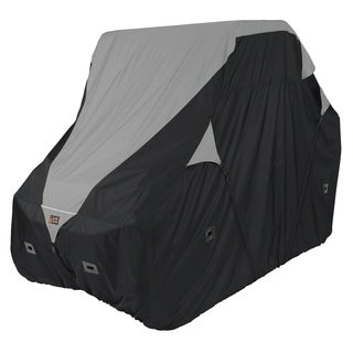 Classic Accessories 18-066-063801-00 Deluxe UTV Storage Cover, XXLarge, Black/Grey