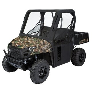 Classic Accessories 18-117-010401-00 UTV Cab Enclosure, Polaris, Black