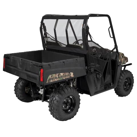 Classic Accessories QuadGear UTV Rear Windshield, Fits Yamaha® Viking (2015+ models), Black