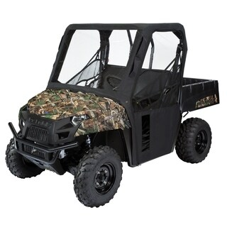 Classic Accessories 18-122-010401-00 UTV Cab Enclosure, Polaris, Black