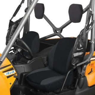 Classic Accessories QuadGear UTV / Side by Side Bucket Seat Covers, Black