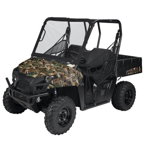 Classic Accessories QuadGear UTV Front Windshield, Black
