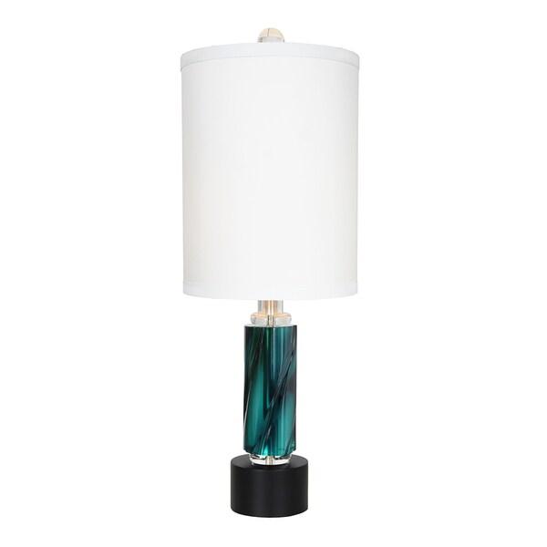 Van Teal 633772 Rhapsody Teal 30.5-inch Table Lamp