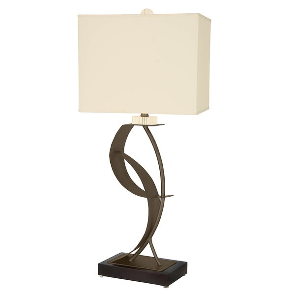 Van Teal 630672 Lady Eva Bronze Metal/Acrylic 33-inch Table Lamp
