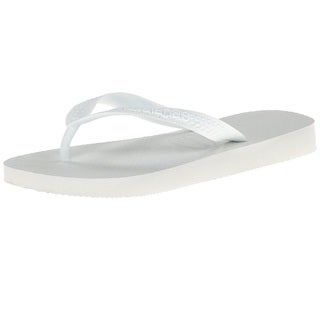 HAVAIANAS Kids Top Flip Flop 33/34 BR (3-4 M US Big Kid) White