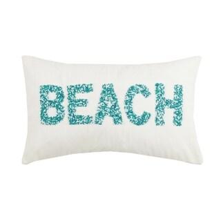 Beach Beaded Pillow