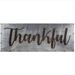 "American Art Decor ""Thankful"" Inspiration Farmhouse Decor"