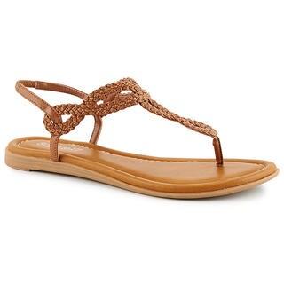 Sophie17 Womens Braidy2 Flat Sandals