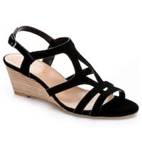 Pesaro Womens Gina Wedge Sandals