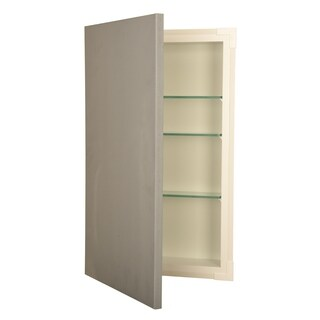 "14x24 recessed disappearing frameless wall cabinet - 5.5"" deep"