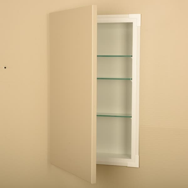 14x21 Recessed Disearing Frameless Wall Cabinet