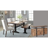 Astoria White Concrete Dining Set - Free Shipping Today - Overstock ...