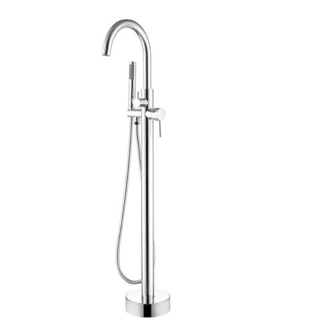 Dyconn Faucet Free Standing Tub Filler Faucet With Hand Shower