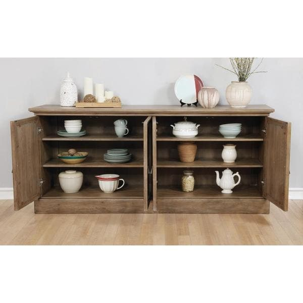 Ashleigh Brown Wood 8 Piece Dining Set With Server Overstock 19434042